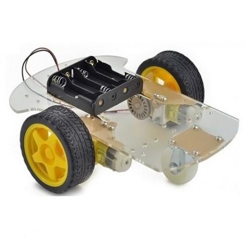 Arduino wd akıllı robot araba motor Şase ve tekerlek kit