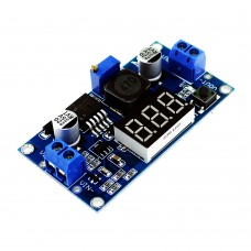 LM2596 Voltmetreli Step Down Voltaj Regülatörü DC DC Çevirici