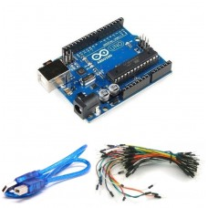 Arduino UNO R3 Yeni Versiyon + Jumper + USB Kablo Arduino Uno Set