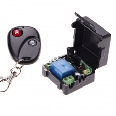 RF Uzaktan Kumandalı Röle Kartı Self Lock 12V 10A Arduino