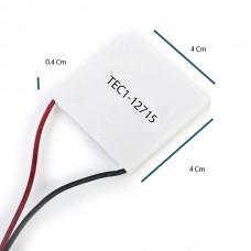 Peltier Soğutucu 165W TEC1 12715 15V 10A Termoelektrik Soğutucu