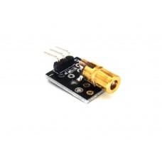 Lazer Sensör Modülü KY-008 Arduino - 650nm 5V 5mW