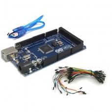 Arduino MEGA 2560 R3 Yeni Versiyon + Jumper kablo + USB Kablo