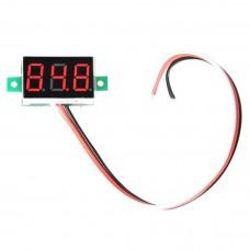 Dijital Mini Voltmetre  DC 0V-100V  Gerilim - Voltaj Ölçer