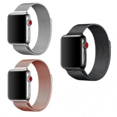 Apple Watch 38-40-42-44mm Metal Kayış Milano Kordon 1 | 2 | 3 | 4 | 5